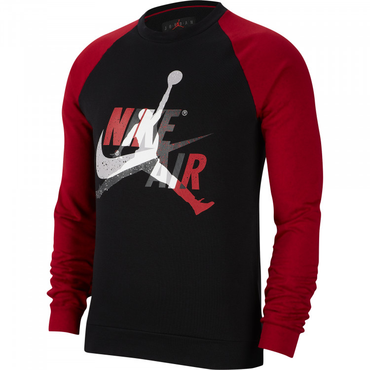 Лонгслив Air Jordan Jumpman Classics Fleece Crew CK2848-010